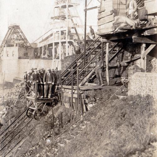 Carrières Cosyns - ascenseur, 1924