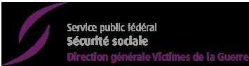 Logo du Service Public Federal - Sécurité Sociale, DG Victimes de la guerre
